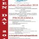 OPEN DAY 15/9/2018